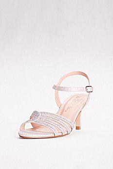 Low Heel Strappy Embellished Sandals VERO-49