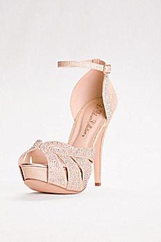 High Heel Embellished Platform Sandal VICE-172