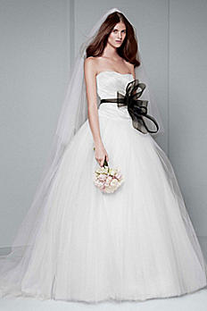 White by Vera Wang Draped