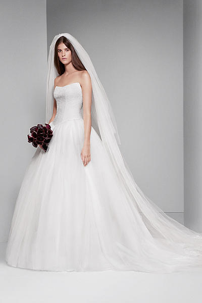 Tulle Ball Gown Wedding Dress Davids Bridal