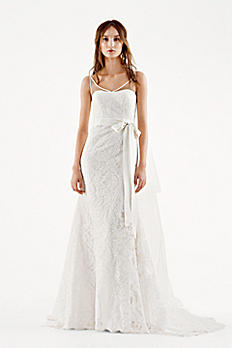 White by Vera Wang Tank Mermaid Wedding Dress 4XLVW351227