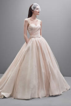Long Ballgown Modern Chic Wedding Dress -