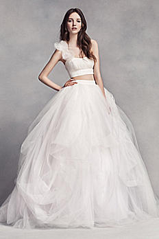 White by Vera Wang Tulle Skirt VW351326