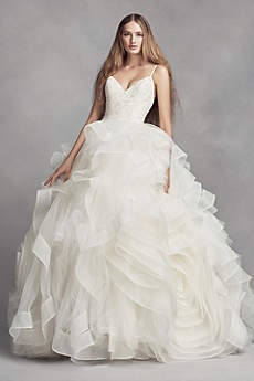 Long Ballgown Modern Chic Wedding Dress
