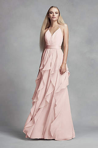 Low Back Bridesmaid Dress