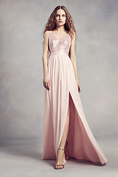 V-Neck Bridesmaid Dresses | Davids Bridal