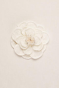 Rose Fabric Flower Clip VW37HP16