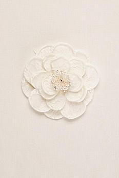 Rose Fabric Flower Clip VW37HP16
