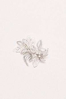 Pearl and Bead Botanical Comb VW37HP17