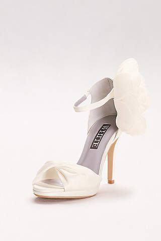 Peep Toe Shoes, Wedges, Heels & Pumps | David's Bridal