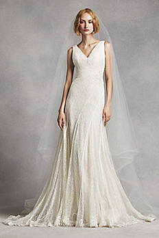 Flat Two Tier Cathedral Veil VWV08
