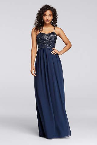 Sequin &amp- Sparkly Bridesmaid Dresses - David&-39-s Bridal