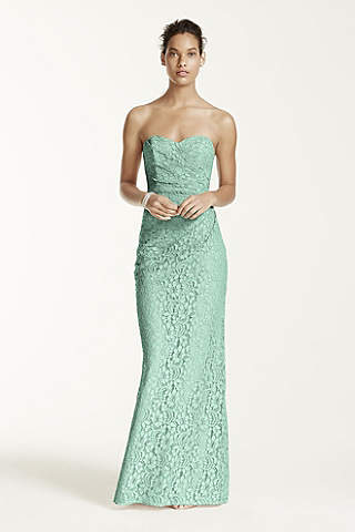 Turquoise &amp- Aqua Bridesmaid Dresses - David&-39-s Bridal