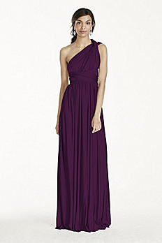 Versa Convertible Long Jersey Dress W10502