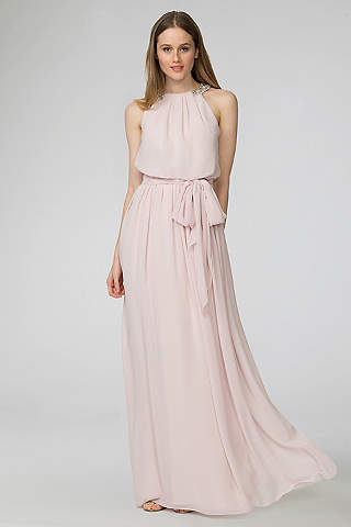 Donna Morgan Peyton Chiffon Bridesmaid Dress