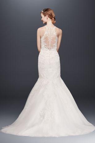 Cheap sleeved wedding dresses