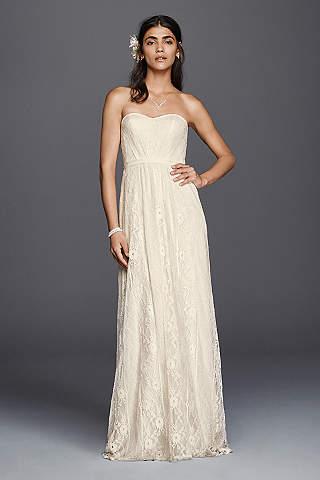 Vintage Wedding Dresses - Lace &amp- Gown Styles - David&-39-s Bridal