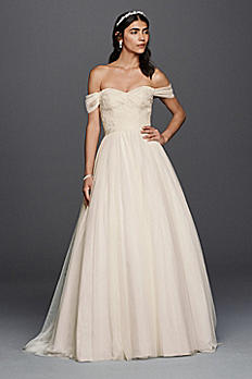 Tulle Beaded Lace Sweetheart Wedding Dress WG3785