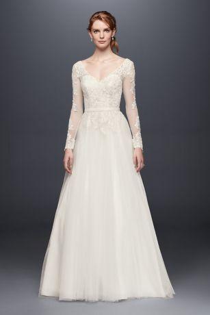 Vintage flapper style wedding dress