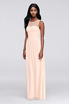 Sleeveless Prom Dress with Illusion Neckline X32901CJ7
