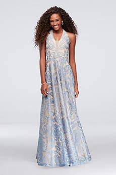 Long Ballgown Tank Prom Dress - Speechless