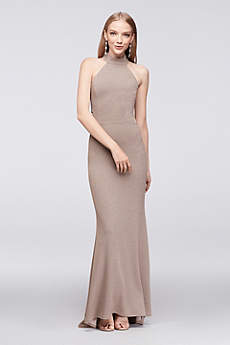 Long Mermaid/ Trumpet Halter Formal Dresses Dress - Speechless