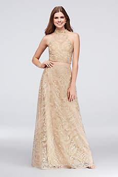 Long Ballgown Halter Formal Dresses Dress - Speechless