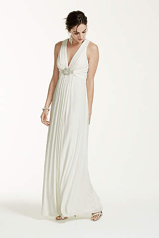 Halter Wedding Dresses &amp- Gowns - David&-39-s Bridal