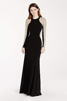 high neckline dresses davids bridal