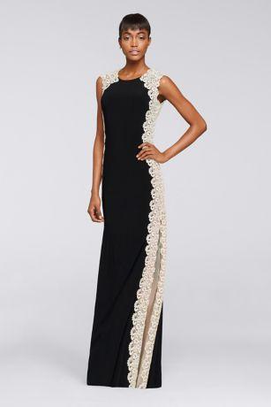 Long formal dresses in black
