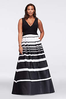 Long Ballgown Tank Prom Dress - Xscape