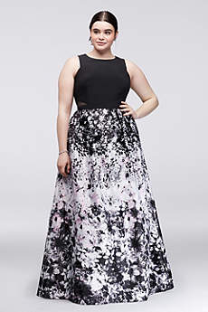 Long Ballgown Tank Formal Dresses Dress - Xscape