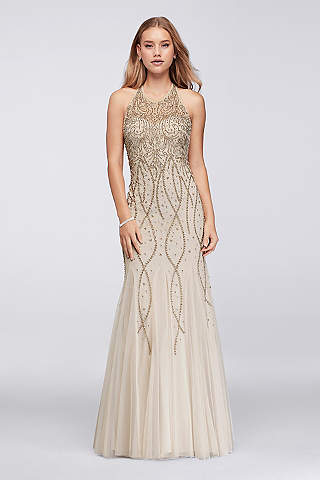 Halter Prom Dresses & Gowns for 2017   David's Bridal