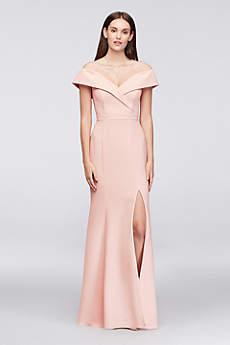 Long Mermaid/ Trumpet Off the Shoulder Formal Dresses Dress - Xscape