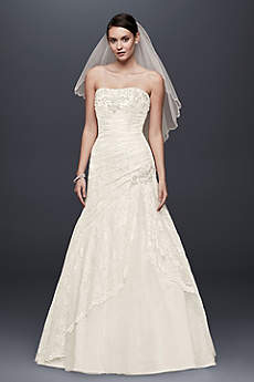 White A-line Wedding Dresses & Gowns | David's Bridal