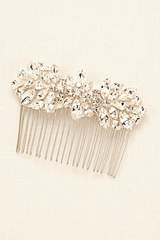 Truly Zac Posen Crystal Hair Comb ZP12