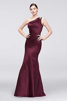 Long Mermaid/ Trumpet One Shoulder Formal Dresses Dress - Truly Zac Posen