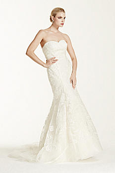 Truly Zac Posen Tulle Mermaid Wedding Dress ZP341419