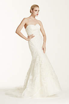 Long Mermaid/ Trumpet Glamorous Wedding Dress - Truly Zac Posen