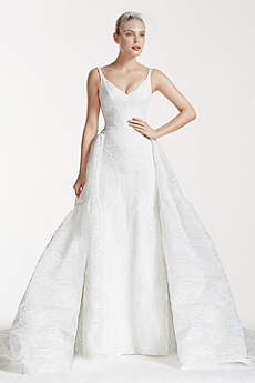 Truly Zac Posen Tank Bonded Lace Wedding Dress