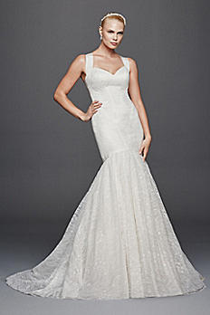 Truly Zac Posen Criss Cross Back Wedding Dress ZP341638