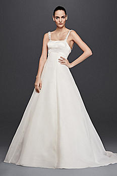 Truly Zac Posen Satin A-Line Wedding Dress ZP341683