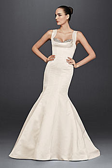 Truly Zac Posen Mermaid Wedding Dress with Crystal ZP341686