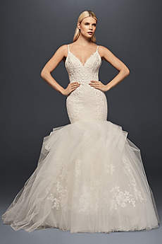 Long Simple Wedding Dress - Truly Zac Posen