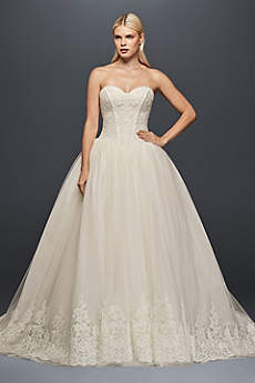 Long Ballgown Vintage Wedding Dress - Truly Zac Posen