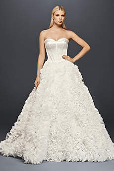 Long Ballgown Romantic Wedding Dress - Truly Zac Posen