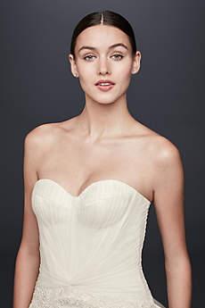 Long Mermaid/ Trumpet Glamorous Wedding Dress - Truly Zac Posen