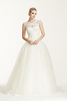 Truly Zac Posen Lace and Tulle Wedding Dress ZP345016