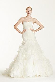 Truly Zac Posen Lace Mermaid Wedding Dress ZP345021