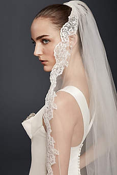 Cathedral Veil with Sequin Lace